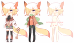 Foxie random adopt SETPRICE [CLOSED] by A--R--O