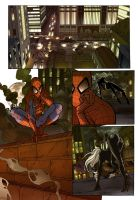 Spiderman sample page 1 by qualano