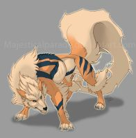059 - Arcanine by majesticalparade
