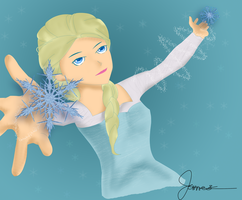 The Snow Queen by idropforyou