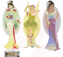 Disney Mucha Xstitch Patterns 2 (Hannah-Alexander) by pinkythepink