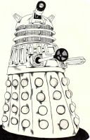 Dalek by Charlie-Skellington