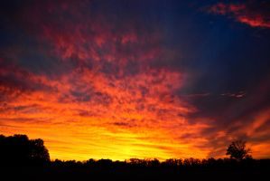 Sky on Fire by fixer