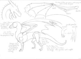 tutorial - how to draw a dragon by Ferania