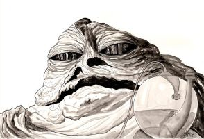 Jabba the Hutt by Lord-Makro