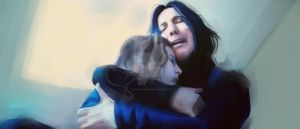 Snape and Lilly WIP by CanImakeUart