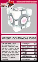 Trading Card - Wght Comp. Cube by jessiesheram