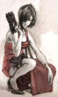ada wong secret agent girl by tomasoverbai