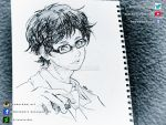 Kousei (Your Lie In April) Sketch by GZ-Iconic-Ent