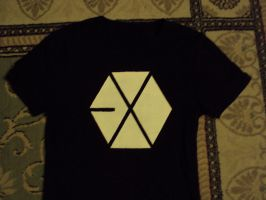 My home made EXO shirt ~ by ailaahdo