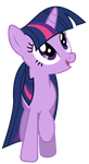 Twilight Sparkle (going for a stroll) by DrFatalChunk