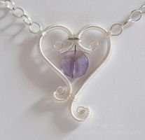 Heart and Soul Necklace by melissamyth