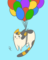 Fat Cat vs. The Balloons by Jack-La