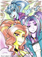 The Dazzlings: Come and heed us by Fly-Sky-High