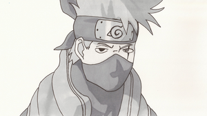 Kakashi Colored by OneOfLifesMysteries