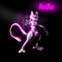Mewtwo Painting by ShynTheTruth