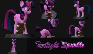 Twilight Sparkle by Shnider