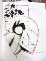 Ironman Con doodle-SDCC 2014 by aethibert
