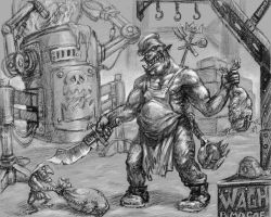 Orks_s kitchen by skor2d