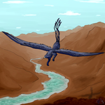 Mountain Flight by QingFey