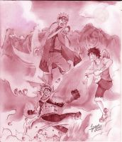 A war of three by franxxxholic