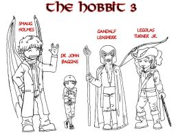 The Hobbit 3 by Ichi-sempai