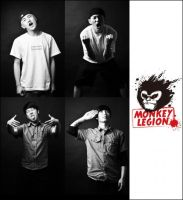 make for other band's logo .name is Monkey Legion by TONYDONGSHENG