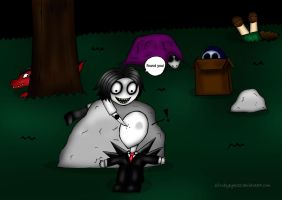 Creepypasta Babies - Hide and Seek by rubyeyes32