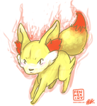 fennekin by unversed
