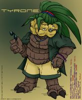 PCA: Tyrone by WeaverNocturne