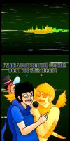 Heir and Sprite On A Boat by Onslaught14