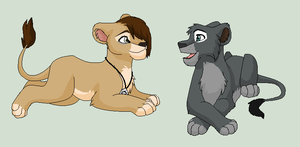 Brothers - Nala15 Trade by Kainaa