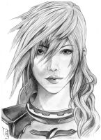 Lightning Farron - Final Fantasy XIII-2 by TheNightBeforeLast