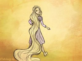 Rapunzel by Elderberry-bb