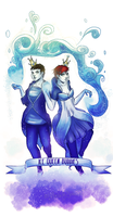 Ice-queen-buddies by 001-JeSter-100