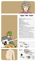 Hyena Profile: Dylan Ribs Smith by danny-spikes