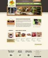 Nature gatine Website by TabulaRasaStudio