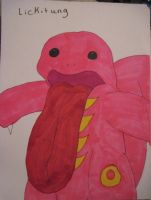 Lickitung Colored by Trissacar