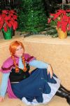 Cosplay: Princess Anna of Arendelle by Astranyx