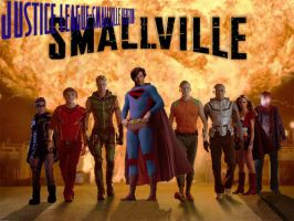 Justice League Smallvile by christofferlarsson