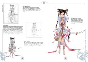 Character Drawing Process by daxiong