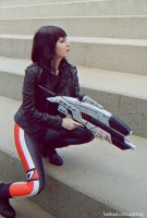Shepard Commander by Kitty-Valentine