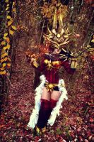 Justicar Skin Syndra by Its-Raining-Neon