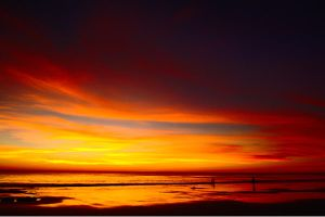 A sweeping Broome sunset by wildplaces