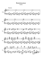 Storage Room Cleaning Reminiscence Sheet Music by OtakuKonami