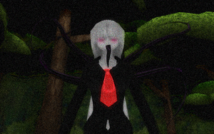 If Slender had a Daughter... by McChipy