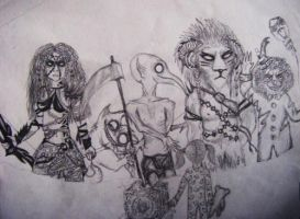 Come with us... (sketch) by Xanthiya