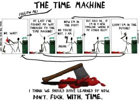 The Time Machine by TheRealMacabre