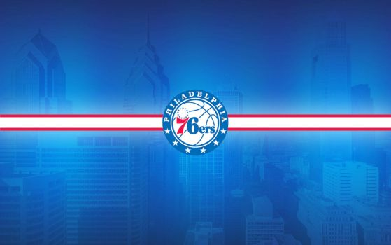 New 2015 76ers Logo Wallpaper #TrustTheProcess by N4S-GFX