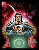 Superman Prime colored by Dany by MARR-PHEOS